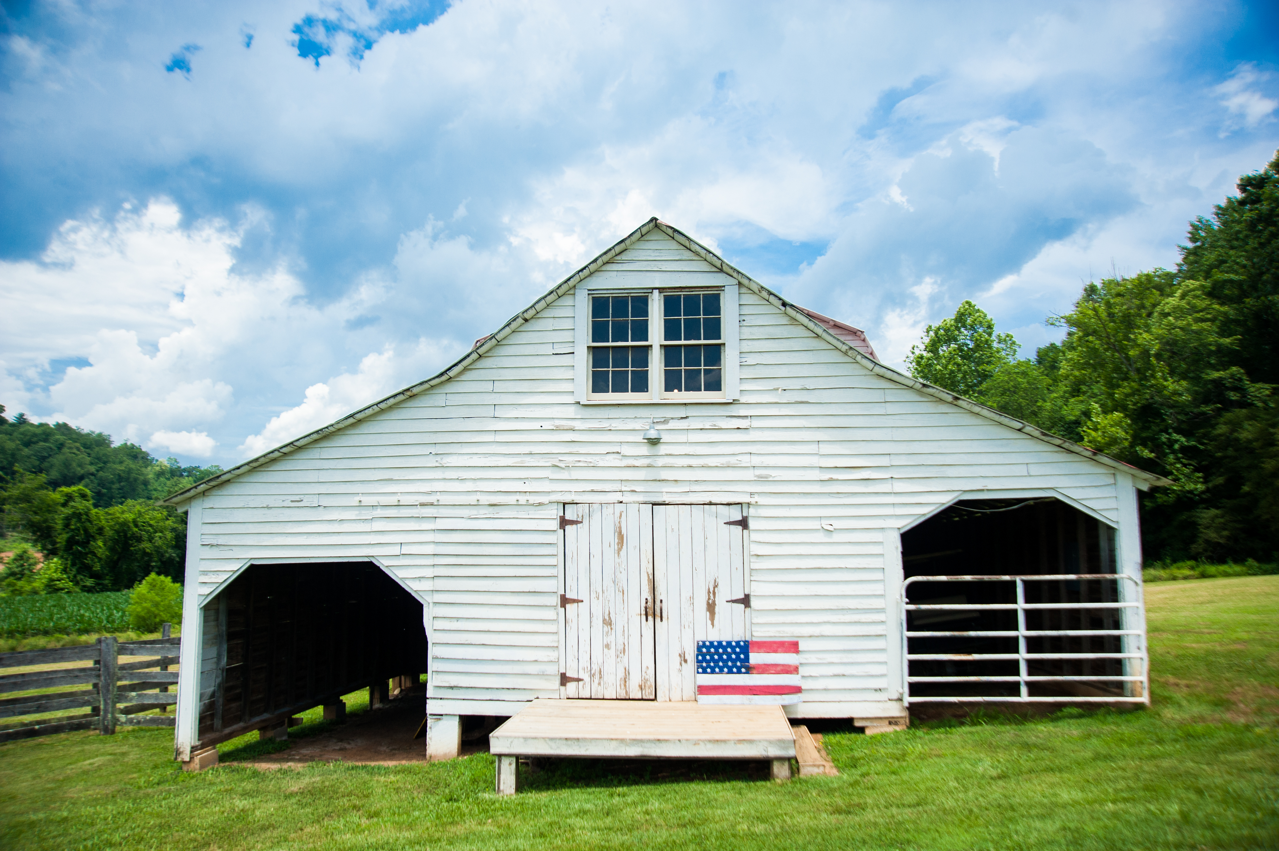 The Mitchell River House. The Barn